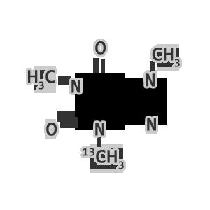 caffeine molecule chemistry